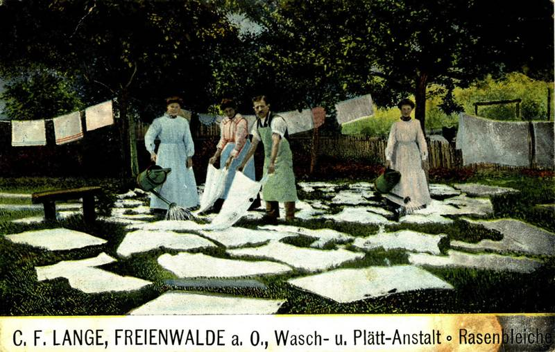 Geschichte unserer Wäscherei in Bad Freienwalde